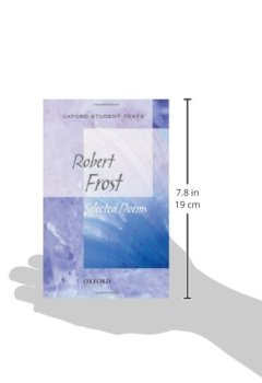 Livres Couvertures de Oxford Student Texts: Robert Frost: Selected Poems
