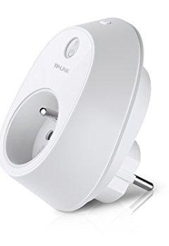 Livres Couvertures de TP-Link HS110(FR) Prise Intelligente Wi-Fi avec mesure de consommation - Compatible avec Amazon Alexa - Pas besoin de Hub