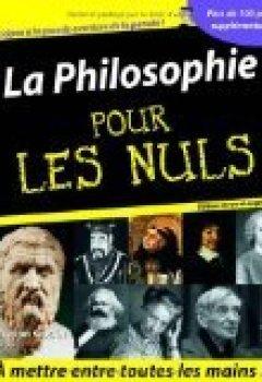 Livres Couvertures de La Philosophie Pour les Nuls, Nouvelle édition augmentée