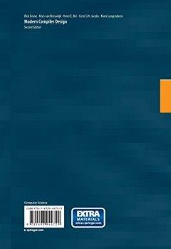 Livres Couvertures de Modern Compiler Design