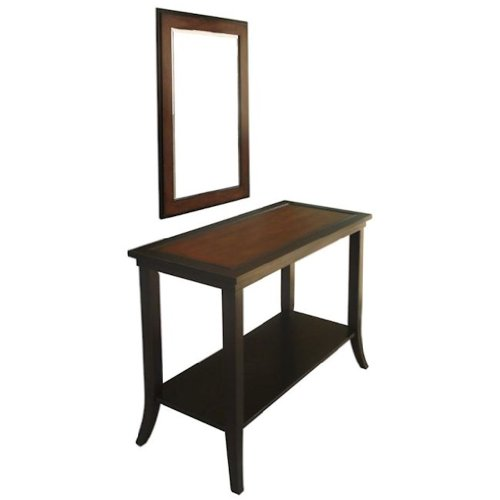 Image of Carolina Accents Carousel Console Table (CA14035)