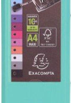 Livres Couvertures de Exacompta Prem'Touch Classeur à Levier A4 80 mm Vert Clair