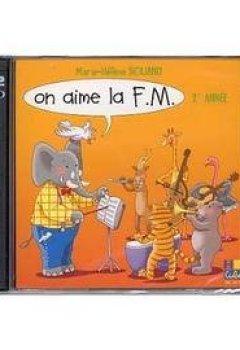 Livres Couvertures de Siciliano : on aime la FM vol 2 - CD seul