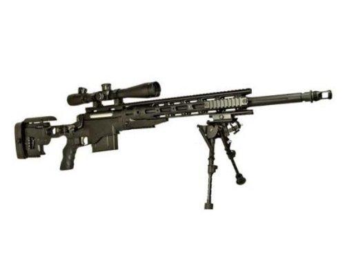ARES製 XM2010(MSR-338)エアコッキング ブラック 【M3スコープ&バイポッド付属】Ver