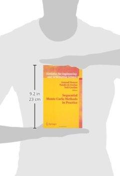 Livres Couvertures de Sequential Monte Carlo Methods in Practice