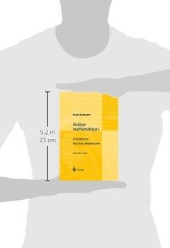 Livres Couvertures de Analyse mathématique I : Convergence, fonctions élémentaires