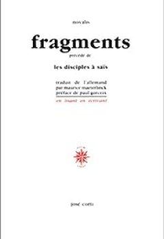 Livres Couvertures de Fragments, précédé de 'Les Disciples à Saïs'