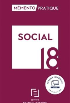 Livres Couvertures de MEMENTO SOCIAL 2018