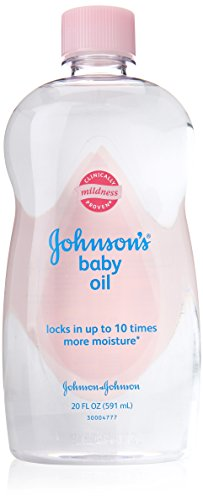 Johnson and Johnson Baby Oil, 20 Ounce
