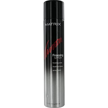 Matrix Vavoom Freezing Spray is an extra-firm, fast drying spray that instantly locks in volume, texture and lift. Create dramatic styles that are full of brilliant shine and superior resistance. Matrix Vavoom Freezing Spray is a PABA-free sunscreen.
