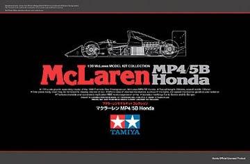 プラモデル 1/20 マクラーレン Honda MP4/5B & ドライバー・エンジニアセット