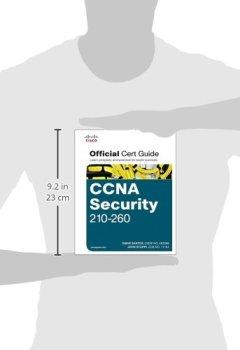 Livres Couvertures de CCNA Security 210-260 Official Cert Guide