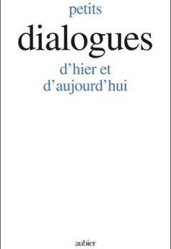 Livres Couvertures de Petits dialogues d'hier et d'aujourd'hui