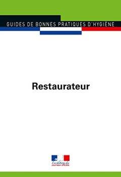 Livres Couvertures de Restaurateur (Guides de bonnes pratiques d'hygiène n°5905)