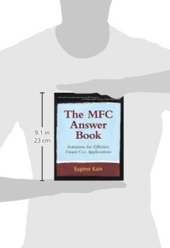 Livres Couvertures de The MFC Answer Book: Solutions for Effective Visual C++ Applications