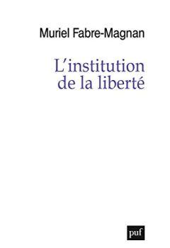 Livres Couvertures de L'institution de la liberté