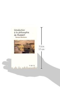 Livres Couvertures de Introduction à la philosophie de Husserl