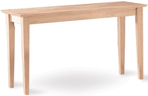 Image of International Concepts Shaker Console Table (OT-9S)