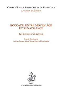 Livres Couvertures de Boccace, entre Moyen Age et Renaissance