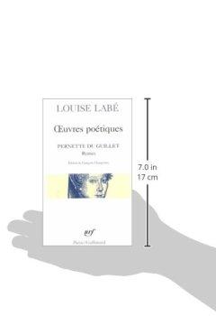 Livres Couvertures de Œuvres poétiques, précédé de