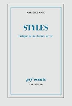 Livres Couvertures de Styles: Critique de nos formes de vie