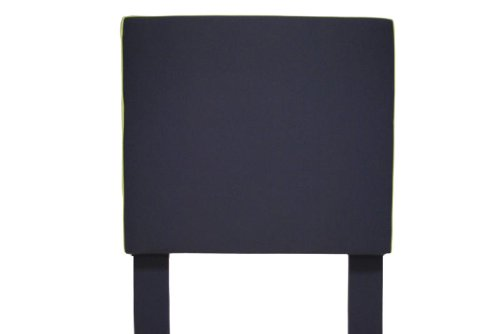 Image of Southeastern Kids Square Headboard  Navy and Apple Green (1002/0207)