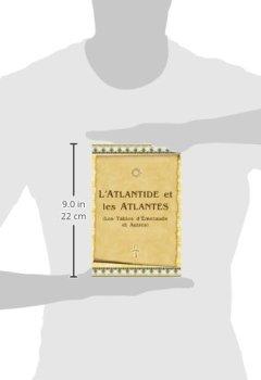 Livres Couvertures de L'Atlantide Et Les Atlantes: Les Tables D'Émeraude Et Autres