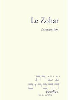 Livres Couvertures de Le zohar : Lamentations