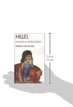 Livres Couvertures de Hillel : Un sage au temps de Jésus