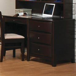 Picture of Comfortable Phoenix Single Pedestal Youth Computer Desk by Coaster (B0051PEAS2) (Computer Desks)