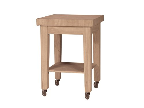 Image of International Concepts *WC-2424 Kitchen Island RTA, Unfinished (WC-2424)