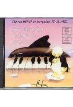 Livres Couvertures de CD : ma première année de piano - CD seul