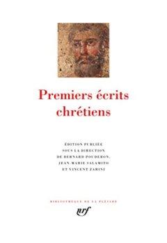 Livres Couvertures de Premiers écrits chrétiens