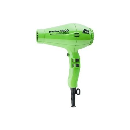 Parlux 3800 is a 2100 watt ultra compact ceramic ionic dryer, its design that is both salon compatible, super light and also kind to the environment. Featuring recycled plastics and a recycled outer package the 3800 is the greenest dryer that you wil...