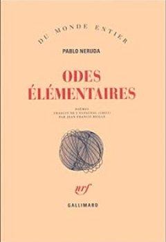 Livres Couvertures de Odes élémentaires