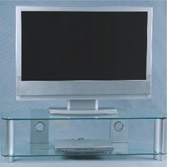 Image of Digicom Digital Necessities AVS-101CL Universal TV Stand-Suitable 32 - 52 TV s (AVS-101CL)