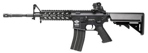 G&G ARMAMENT 電動ガン CM16 Raider-L (ロングバレル) ブラック 本体のみ (バッテリー・充電器別売) EGC-16P-RDL-BNB-NCM
