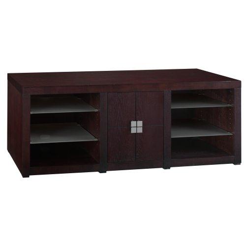 Image of Bush Furniture Montclair TV Stand, Espresso (AZ26-10948)