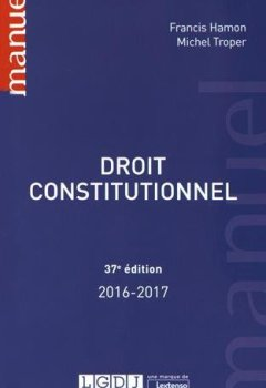 Livres Couvertures de Droit constitutionnel