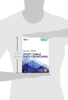 Livres Couvertures de Excel 2016 Pivot Table Data Crunching (includes Content Update Program)