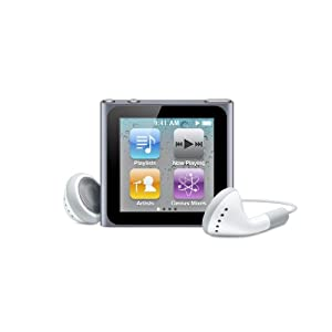 Apple iPod nano 8 GB Graphite - 6th Generation