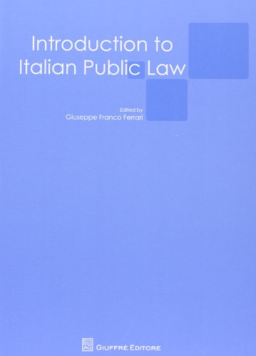 Introduction to italian public law