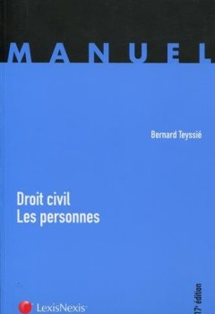 Livres Couvertures de Droit civil : les personnes