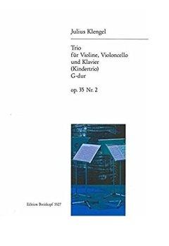 Livres Couvertures de Trio 2 G Op.35  +CD