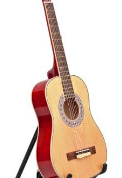 Livres Couvertures de Guitare acoustique de taille 1/2 pour enfants de 6 à 9 ans, avec kit d'accessoire