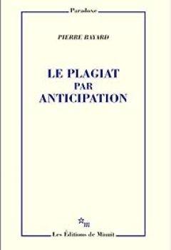 Livres Couvertures de Le plagiat par anticipation
