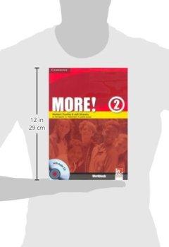 Livres Couvertures de More! Level 2 Workbook with Audio CD