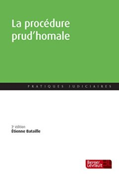 Livres Couvertures de Procedure Prud'Homale 3e ed