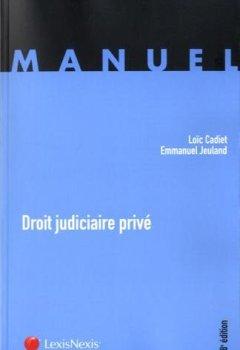 Livres Couvertures de Droit judiciaire privé