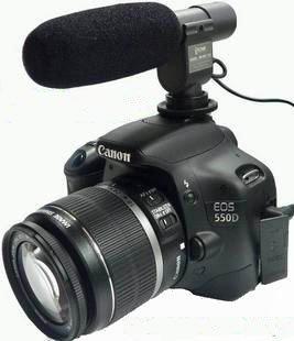 Directional-Shotgun-Mic-for-Camcorder-and-DSLRs